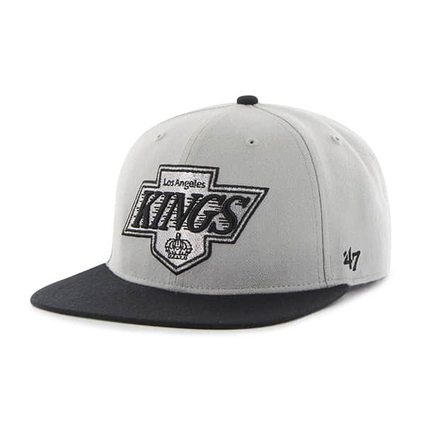 Los Angeles Kings Hole Shot Two Tone Gray 47 Brand Hat