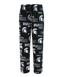 Michigan State Spartans Mens Knit Pajama Pants