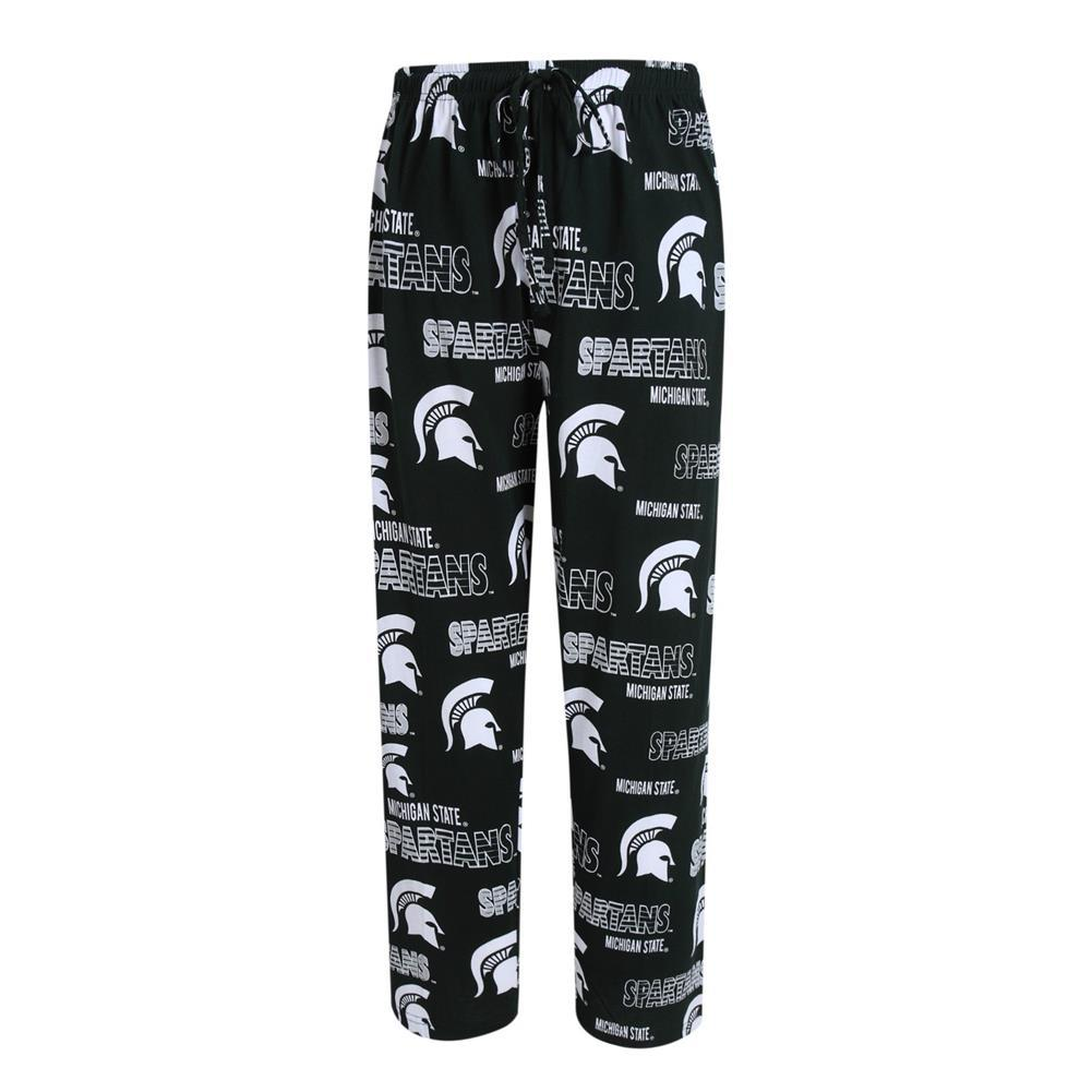 Michigan State Spartans Mens Knit Pajama Pants