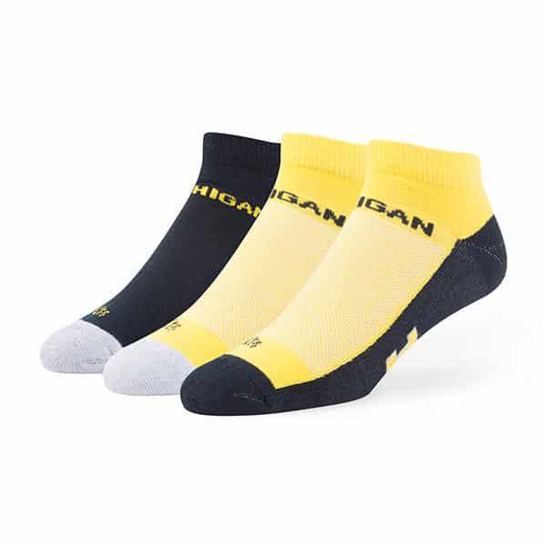 3-Pack NCAA Mens 47 Rush Sport Low-Cut Socks