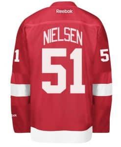 Nielsen Detroit Red Wings Reebok Premier Home Jersey
