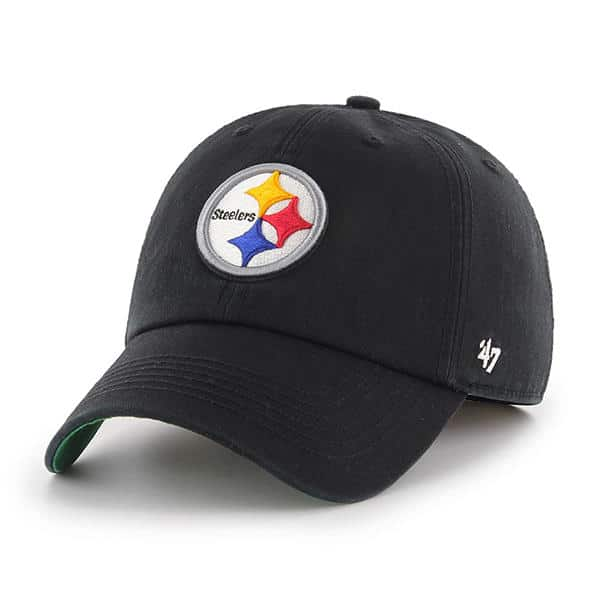 Pittsburgh Steelers 47 Brand Franchise Black Fitted Hat