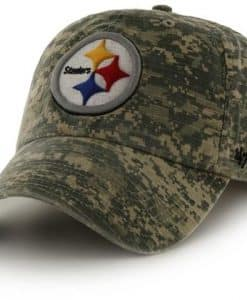 Pittsburgh Steelers Officer Digital Camo 47 Brand Adjustable Hat