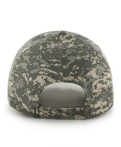 Pittsburgh Steelers Officer Camo Mass General 47 Brand Adjustable Hat Back
