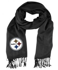 Pittsburgh Steelers Black Pashi Scarf