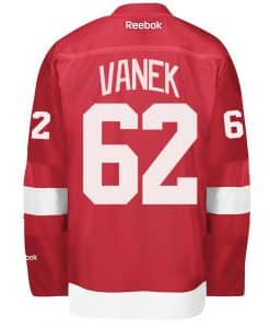 Vanek Detroit Red Wings Reebok Premier Home Jersey