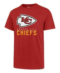 Kansas City Chiefs Men's 47 Brand Red Rival T-Shirt Tee