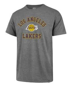 Los Angeles Lakers Men's 47 Brand Gray Rival T-Shirt Tee