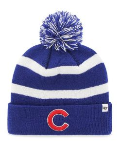 de52fd506e5 Chicago Cubs 47 Brand Blue Breakaway Cuff Knit Beanie Hat