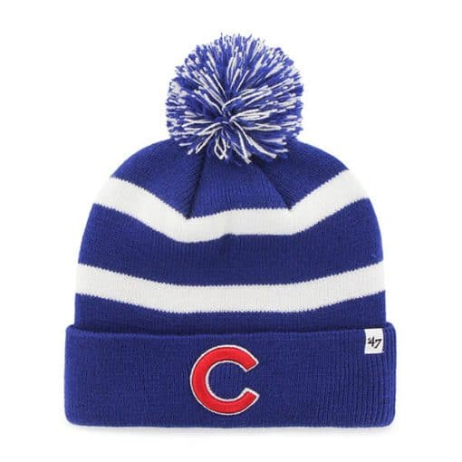 Chicago Cubs 47 Brand Blue Breakaway Cuff Knit Beanie Hat