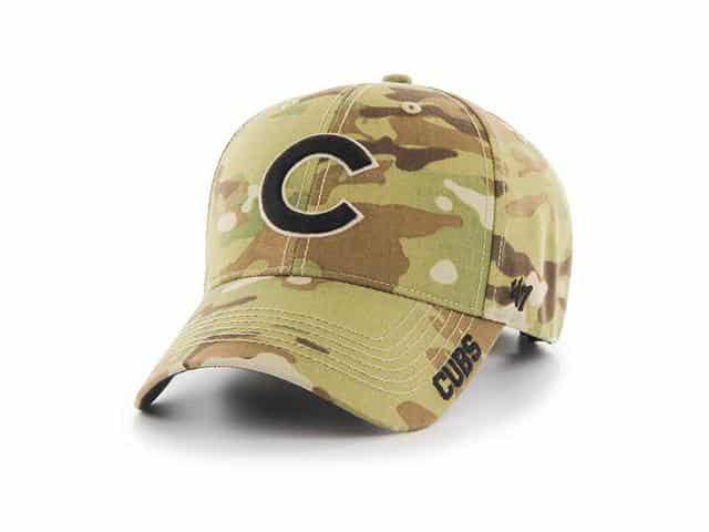 Chicago Cubs 47 Brand Camo MVP Multicam Adjustable Hat - Detroit Game Gear 34a6148b031