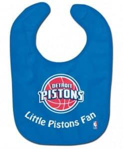 Pistons Littlest Fan Baby Bib