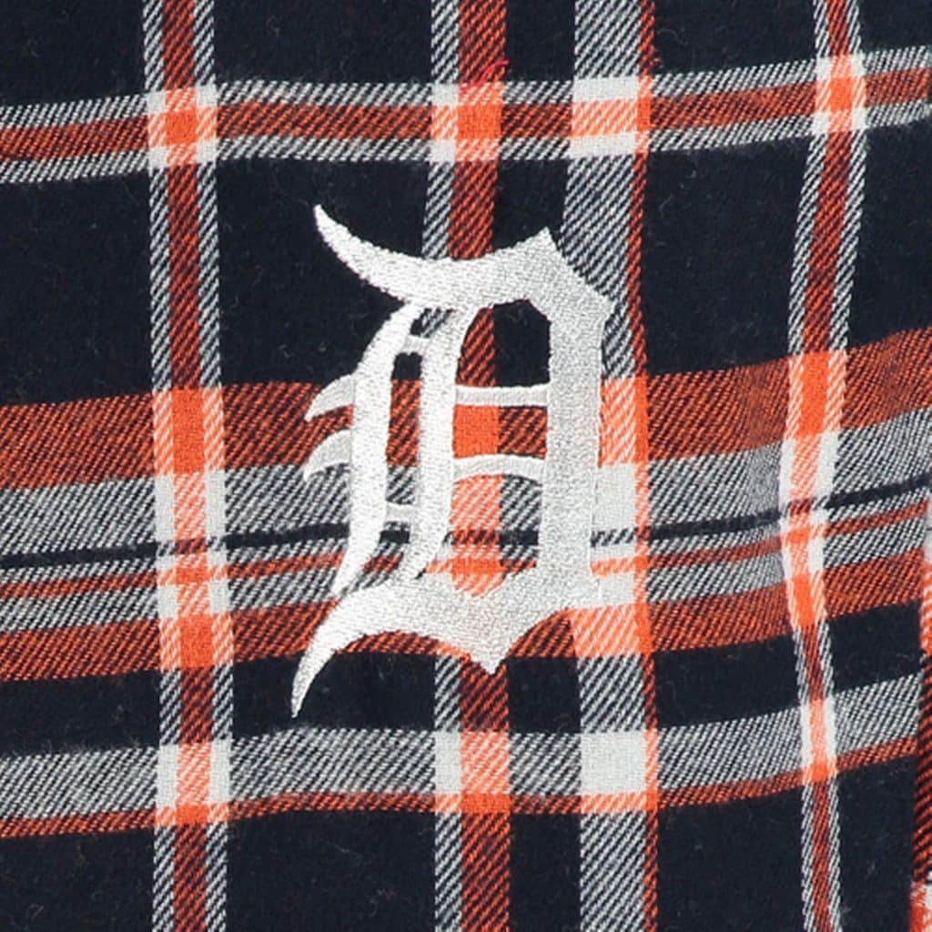 Detroit Tigers Mens Pajama Pants Logo