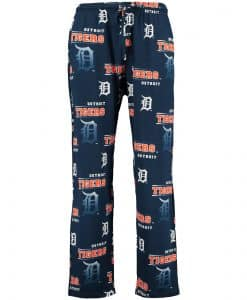 Detroit Tigers Mens Knit Pajama Pants
