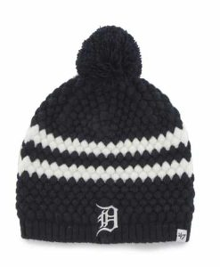 Detroit Tigers Kendall Beanie Knit 47 Brand Womens Hat