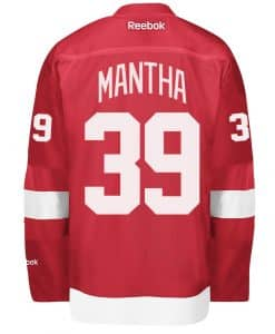 Anthony Mantha Detroit Red Wings Reebok Home Jersey