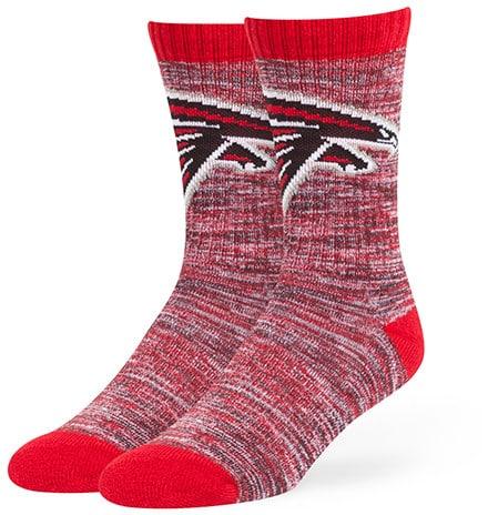 Atlanta Falcons 47 Brand Leroy Crew Sport Socks
