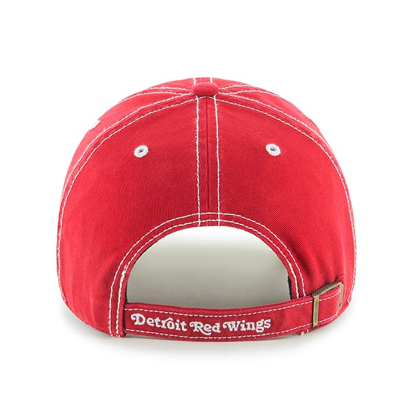 Detroit Red Wings 47 Brand Rockwell Red Clean Up Adjustable Hat