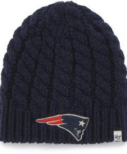 New England Patriots Newbury Beanie Navy 47 Brand Womens Hat