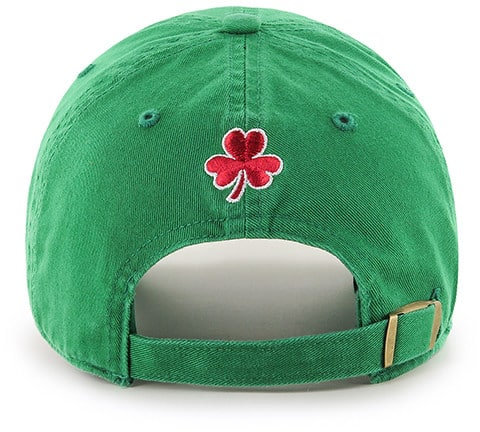 c2de77ea Boston Red Sox St Patty's Clean Up Kelly 47 Brand Adjustable Hat - Detroit  Game Gear