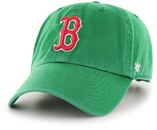 Boston Red Sox St Patty's Clean Up Kelly 47 Brand Adjustable Hat