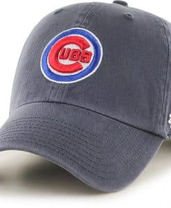 Chicago Cubs 47 Brand Logo Vintage Clean Up Adjustable Hat