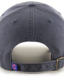Chicago Cubs 47 Brand Logo Vintage Clean Up Adjustable Hat Back ea534203da02