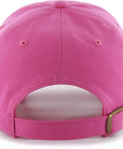 Los Angeles Dodgers 47 Brand Pink Miata Clean Up Adjustable Hat Back