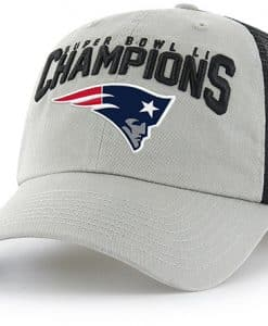 New England Patriots Super Bowl Champions LI Taylor Closer 47 Brand Stretch Fit Hat