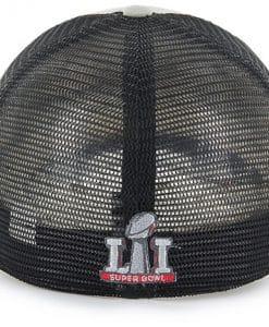 New England Patriots Super Bowl Champions LI Taylor Closer 47 Brand Stretch Fit Hat Back