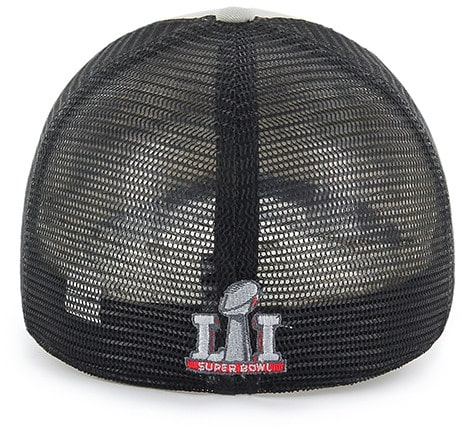 New England Patriots Super Bowl Champions LI Taylor Closer 47 Brand Stretch Fit Hat Back