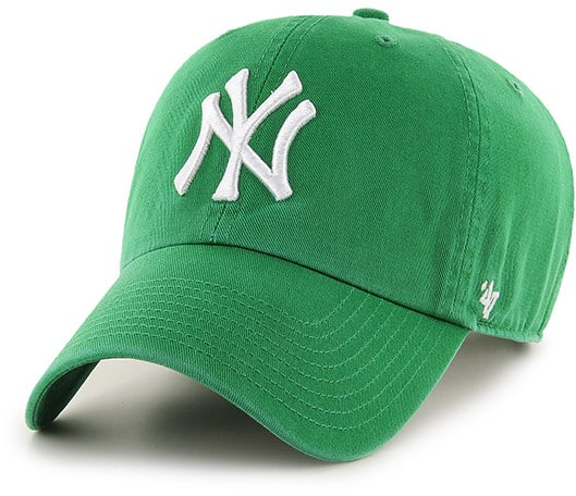 New York Yankees St Patty's Clean Up Kelly 47 Brand Adjustable Hat