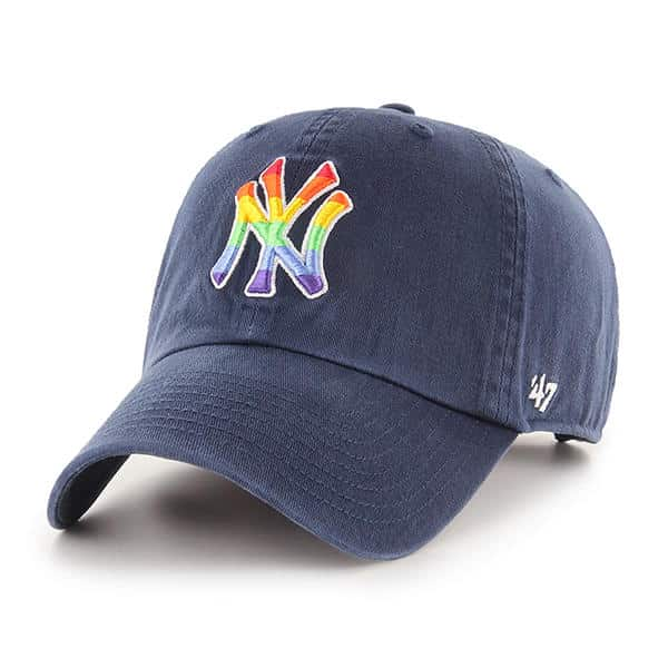 best service where can i buy buy best New York Yankees Pride 47 Brand Navy Clean Up Adjustable Hat ...