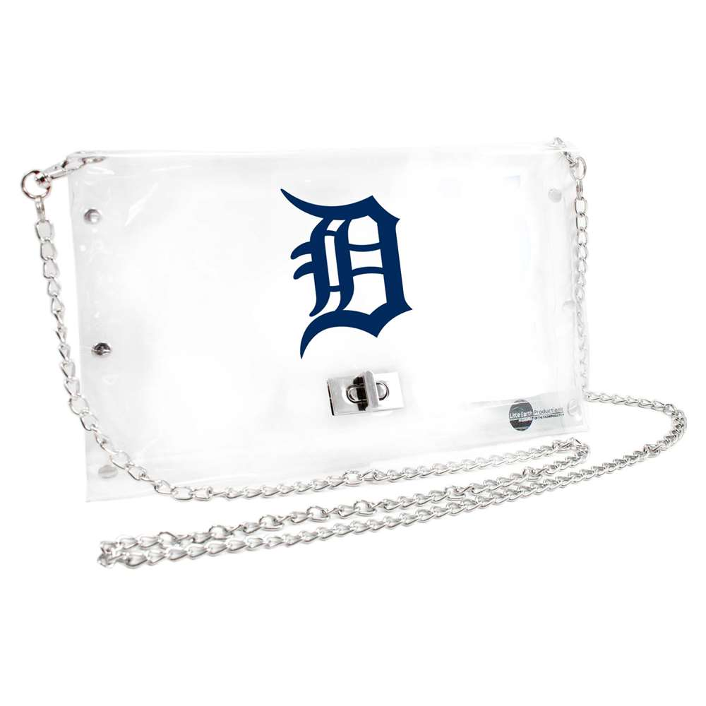 Detroit Tigers Game Day Clear Purse