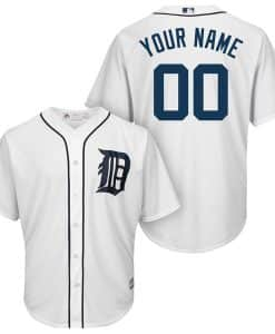 Detroit Tigers Majestic Cool Base Custom YOUTH Home Jersey