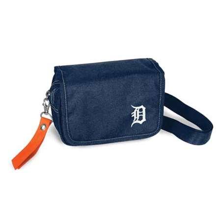 Detroit Tigers Orange Ribbon Waist Pack Purse