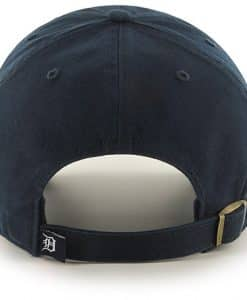 Detroit Tigers Pride Clean Up Navy 47 Brand Adjustable Hat Back