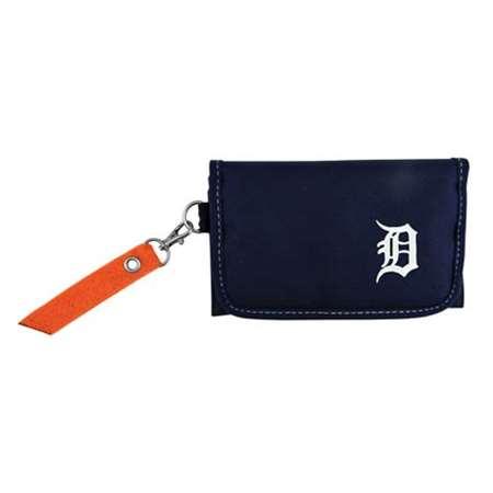 Detroit Tigers Women's Orange Ribbon Organizer Wallet