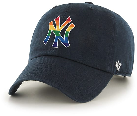 600fa72b54d New York Yankees Pride 47 Brand Navy Clean Up Adjustable Hat - Detroit Game  Gear