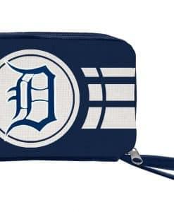 Detroit Tigers Ladies Ripple Zip Wallet