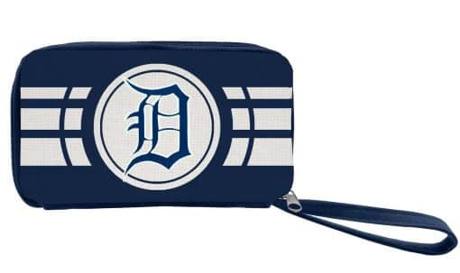 Detroit Tigers Ladies Ripple Zip Wallet