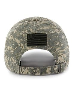 Texas A&M Aggies Officer Digital Camo 47 Brand Adjustable Hat Back