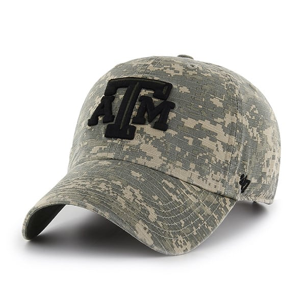Texas A&M Aggies Officer Digital Camo 47 Brand Adjustable Hat