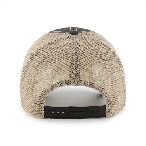 Atlanta Falcons Tuscaloosa Clean Up Vintage Black 47 Brand Adjustable Hat Back