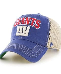 New York Giants Tuscaloosa Clean Up Vintage Blue 47 Brand Adjustable Hat