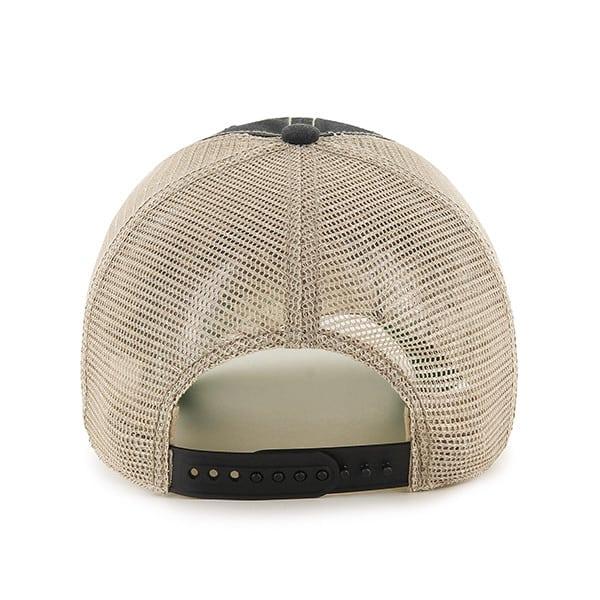 Oakland Raiders Tuscaloosa Clean Up Vintage Black 47 Brand Adjustable Hat Back