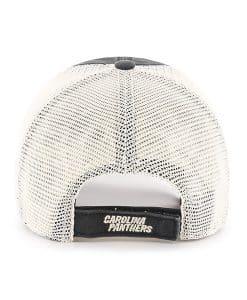 6a20a53d1 ... Carolina Panthers Springfield Clean Up Vintage Black 47 Brand  Adjustable Hat Back