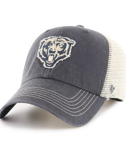 Chicago Bears Springfield Clean Up Vintage Navy 47 Brand Adjustable Hat