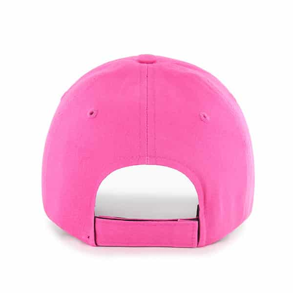 Detroit Tigers 47 Brand Bright Pink Girls KIDS Adjustable Hat Back
