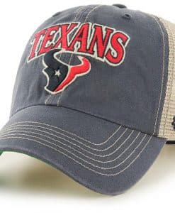 Houston Texans Tuscaloosa Clean Up Vintage Navy 47 Brand Adjustable Hat